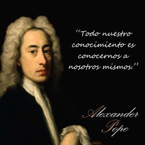 frases de Alexander Pope - Conocimientos