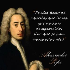 frases de Alexander Pope - Desapareidos