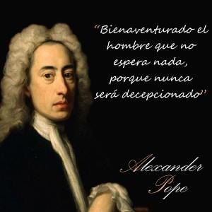 frases de Alexander Pope - Esperanza