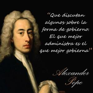 frases de Alexander Pope - Gobierno