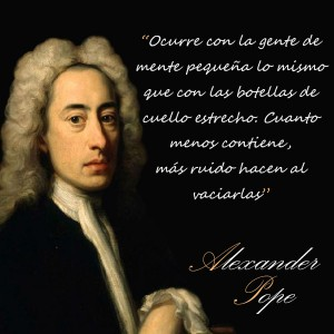 frases de Alexander Pope -  Mente
