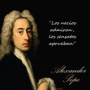frases de Alexander Pope - Necios