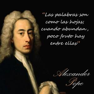 frases de Alexander Pope - Palabras