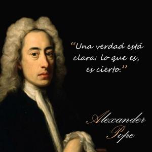 frases de Alexander Pope - Verdad