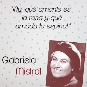 frases de Gabriela Mistral - amarse