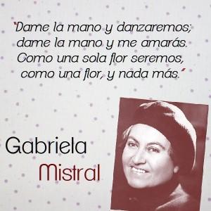 frases de Gabriela Mistral - imagen con frase