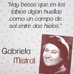 frases de Gabriela Mistral - pensamientos cortos