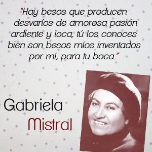 frases de Gabriela Mistral - versos
