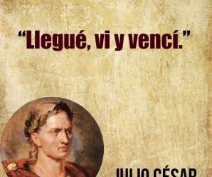 Frases de Julio Cesar