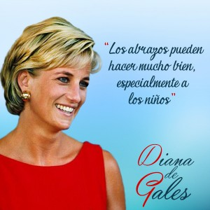 frases de Diana de Gales - Abrazos