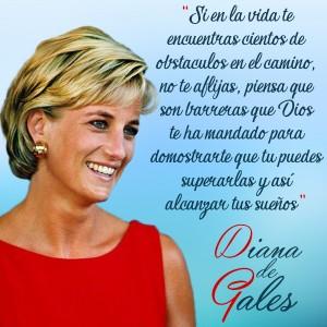 frases de Diana de Gales - Barreras
