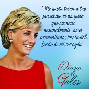 frases de Diana de Gales - Gesto