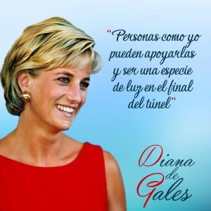 frases de Diana de Gales - Luz