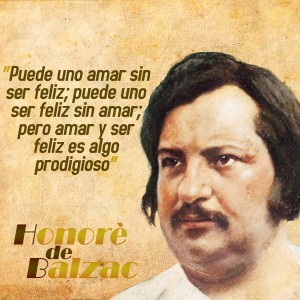 frases de Honorè DeBalzac - Amar