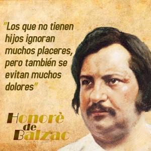 frases de Honorè DeBalzac -  Hijos
