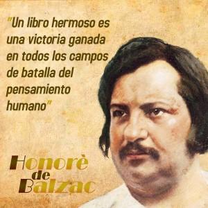 frases de Honorè DeBalzac - Libros