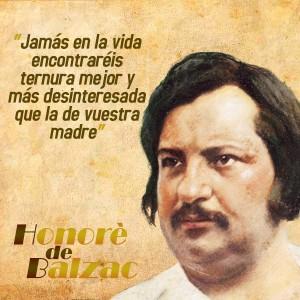 frases de Honorè DeBalzac -  Madres