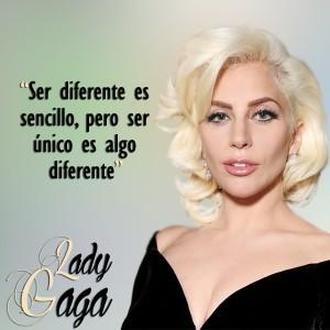 frases de Lady Gaga - Diferente