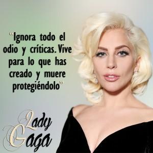 frases de Lady Gaga - Ignora