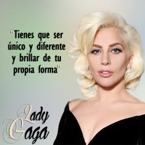 frases de Lady Gaga - Unico