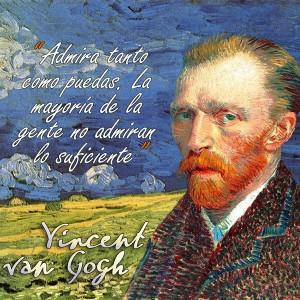frases de VanGogh - Admira