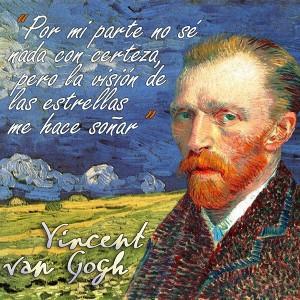 frases de VanGogh - Certeza