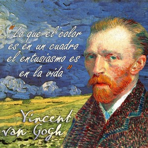 frases de VanGogh - Color