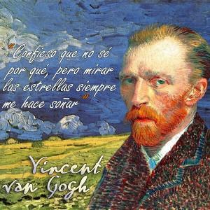 frases de VanGogh - Confieso