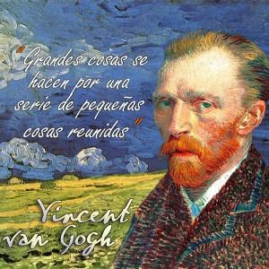 frases de VanGogh - Cosas