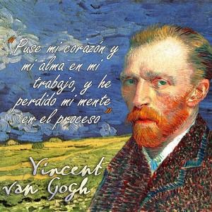 frases de VanGogh - Mente