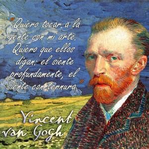 frases de VanGogh - MiArte