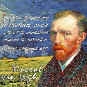 frases de VanGogh - Naturaleza