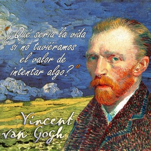 frases de VanGogh - Vida