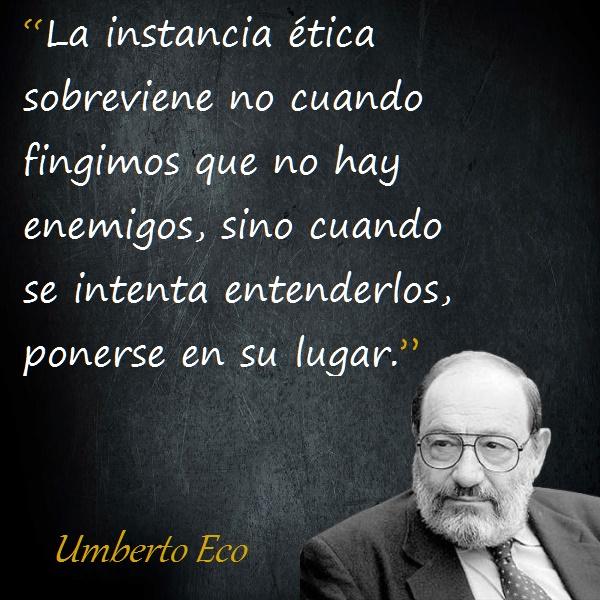 Frases De Umberto Eco Citas Celebres