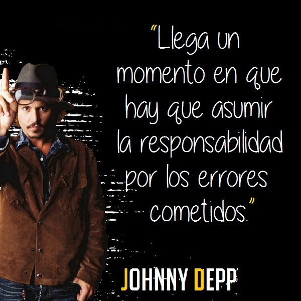 Frases Célebres De Johnny Depp Citas Celebres