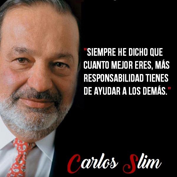 Frases Célebres De Carlos Slim Citas Celebres
