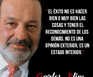 Frases célebres de Carlos Slim